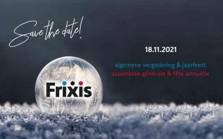 Save the date – Het Frixis jaarfeest komt eraan!