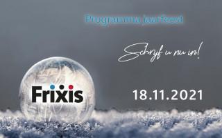 Programma FRIXIS jaarfeest - Schrijf je in voor het jaarfeest, de receptie en het walking dinner