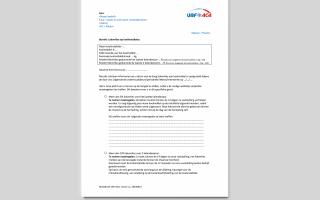 Relatief lekverlies van F-gassen vastgesteld op koel- en luchtbehandelingsinstallaties? Modelbrief voor het inlichten van uw klant/eindgebruiker